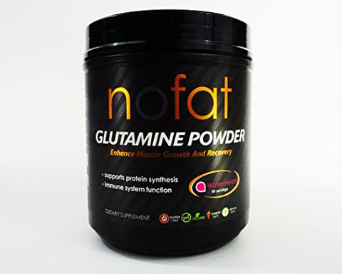 nofat GLUTAMINE POWDER Muscle and Growth Recovery dietary supplement