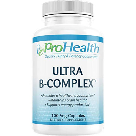 ProHealth Ultra B-Complex (100 mg, 100 Veg Capsules)