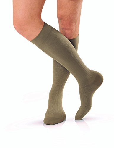 BSN Medical 115015 JOBST Compression Hose with Closed Toe, Knee High, X-Large, 15-20 mmHG, Khaki