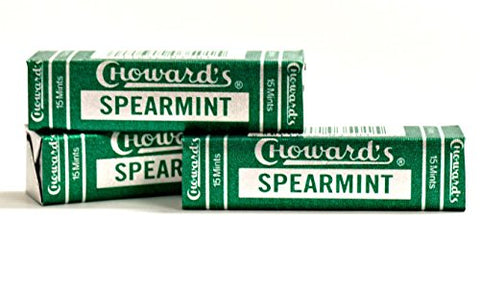 3 Pack Chowards Spearmint Mints - C Howard's Old Fashion Mints 3 Pack - Nostalgia Candy