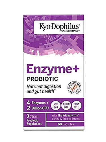 KYO*DOPHILUS Kyo-Dophilus with Enzymes, 0.1 Pounds