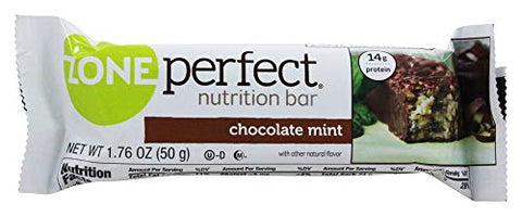 Zone Nutrition Bar, Choc Mint, 1.76-Ounce (Pack of 12)