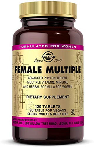 Solgar  Female Multiple, 120 Tablets
