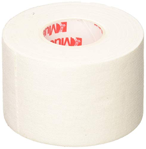 "Mueller Athletic Tape, 1.5"" x 10yd Roll, White, 6 Pack"