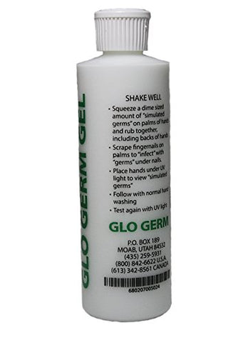 Glo Germ Gel 8 Ounce