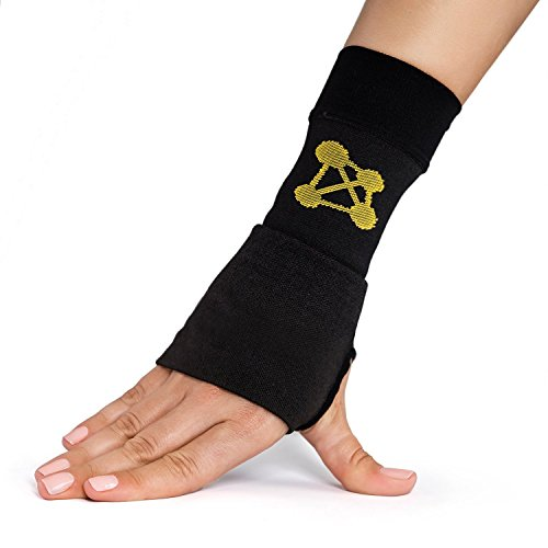CopperJoint Compression Wrist Sleeve, Right (M)