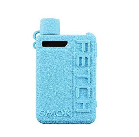 DSC-Mart Texture Cover for Smok Fetch Mini 40W Silicone Case Sleeve Skin Shield (TFblue)