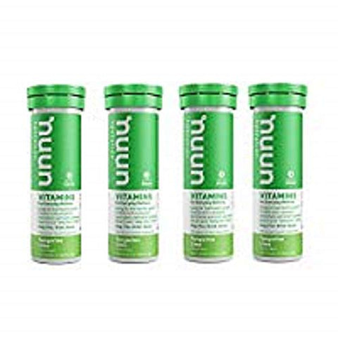 Nuun Vitamins Hydration Electrolytes Tablets - Tangerine Lime - 4 x 12 Tablets