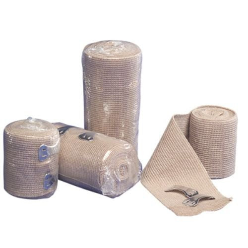 "Covidien 4206 Curity Elastic Bandage with Removable Clip, 6"" x 4-1/2 yd. Size (Pack of 12)"