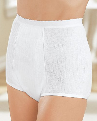 Health Dri Heavy Duty Incontinence Panties, White, 14 - Cotton