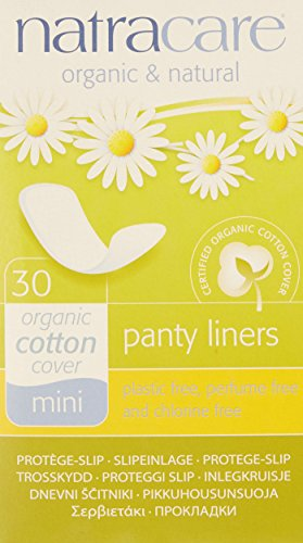 Natracare Mini Pant Liner, 30 Count (Pack of 10)