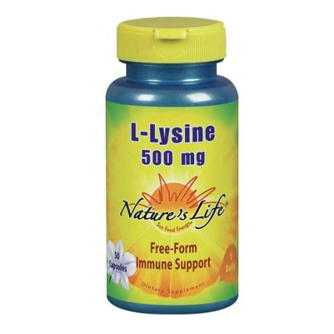 Nature's Life L-Lysine | 50 ct