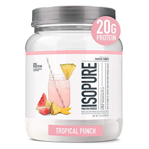 ISOPURE INFUSIONS Whey Protein Isolate Powder