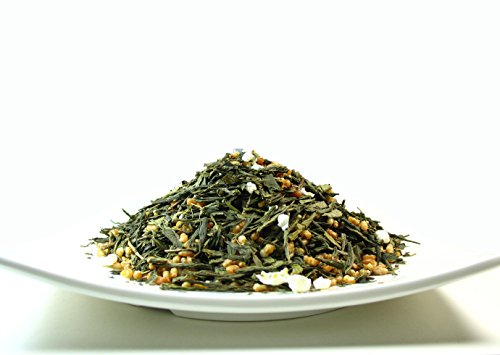 Japanese Style Green Tea Genmaicha, A Light Body Tea With Limited Bitterness â?? 4 Oz Bag