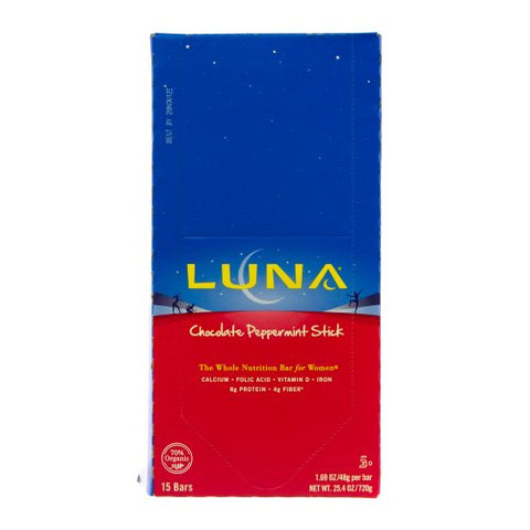 Cliff Bar Luna Bar, Og, Choc Pepprmnt, 1.69-Ounce (Pack of 15)
