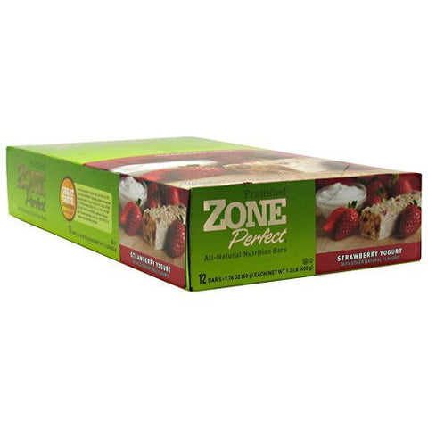 Zone Bar Strawbrry Yogrt Size 12ct Zone Bar Strawberry Yogurt Caddy 12ct