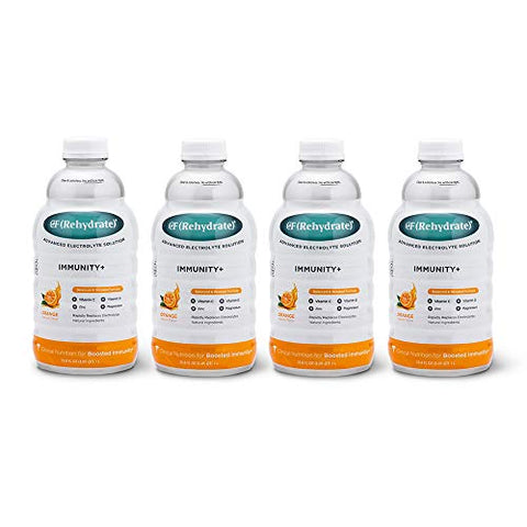 CF(Rehydrate) Immunity+ Drink 4-Pack - Orange
