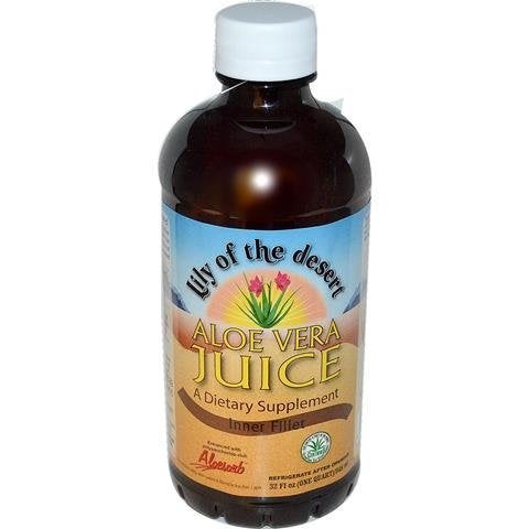 Aloe Vera Juice (946mL) Brand: Lily of the Desert