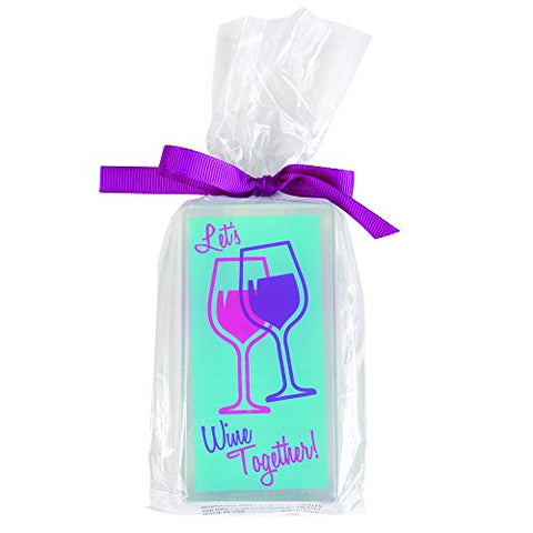 Clearly Fun Sassy Soap, Wine Together, 6 Ounce