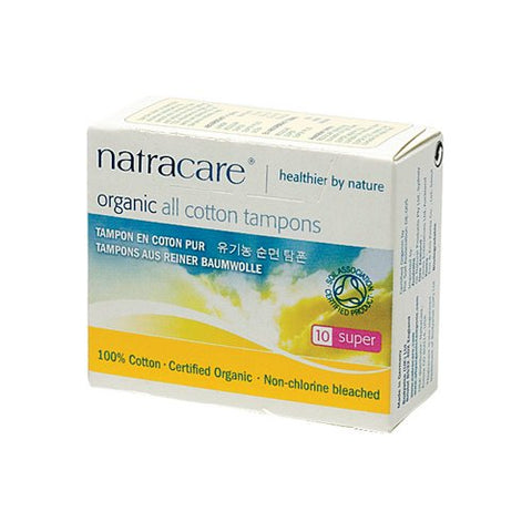 Natracare Tampons Super 10 Ct