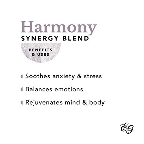 Edens Garden Harmony Essential Oil Synergy Blend, 100% Pure Therapeutic Grade (Highest Quality Aromatherapy Oils- Anxiety & Stress), 10 ml