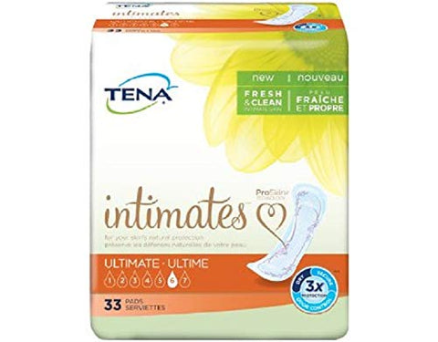 Serenity Tena Ultimate Absorbency Pads - - Case of 3