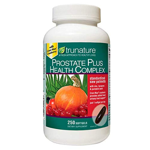 Trunature Prostate Plus Health Complex, 250 Softgels by Trunature Prostate Plus