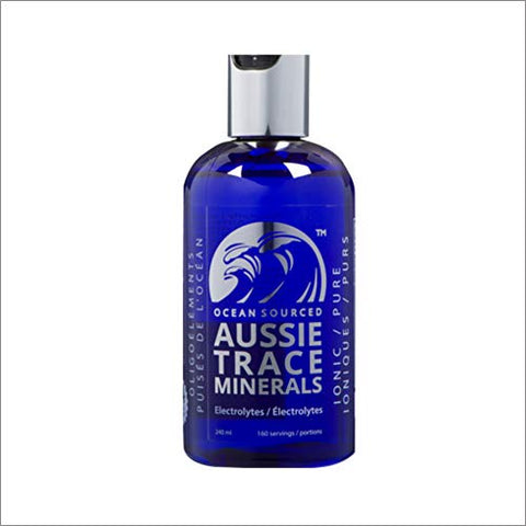 Aussie Trace Minerals (8 oz) - Complete Electrolyte - 3rd Party Tested - Please Consider Your Source