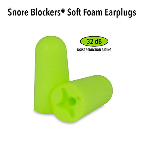 Mack's Snore Blockers Soft Foam Earplugs - 12 Pair