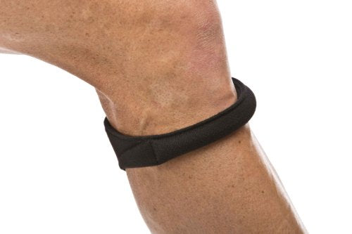 "Cho-Pat Original Knee Strap - Recommended by Doctors to Reduce Knee Pain - Black (Medium, 12.5""-14.5"")"