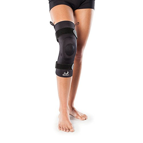 Compression Knee Brace With Gel For Arthritis, Patella Tendinitis, Osteoarthritis   Light Joint Supp