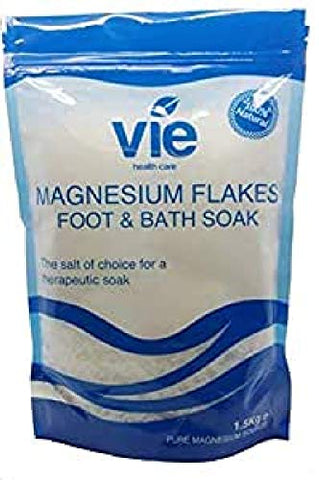 Vie Magnesium Flakes - 1500g Resealable Pouch