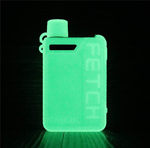 DSC-Mart Texture Cover for Smok Fetch Mini 40W Silicone Case Sleeve Skin Shield (Glow in The Dark)