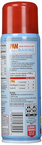 Pam Baking Spray with Flour, 5 fl oz PACK of 3