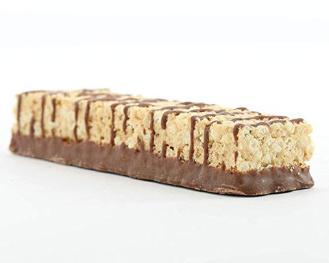 BSN Protein Bars - Protein Crisp Bar by Syntha-6, Whey Protein, 20g of Protein, Gluten Free, Low Sugar, S'mores, 12 Count