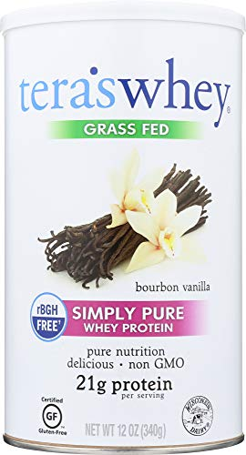 Teras (NOT A CASE) Grass Fed rBGH Free Whey Protein Bourbon Vanilla