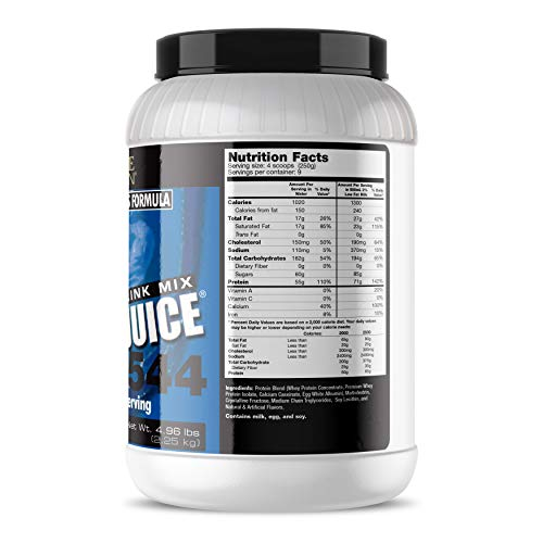 Ultimate Nutrition Muscle Juice 2544 Classic Gainer Protein (Vanilla, 5 Pounds)