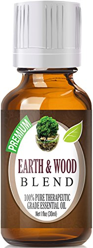 Earth & Wood Blend Essential Oil   100% Pure Therapeutic Grade Earth & Wood Blend Oil   30ml