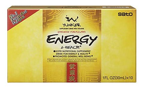 Yunker Energy & Health, 10 Fl Ounce