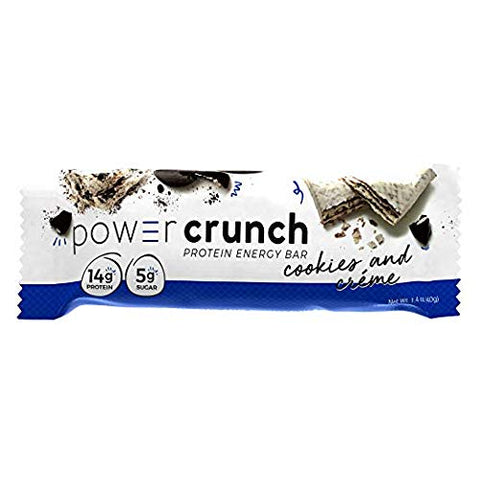 Power Crunch Protein Energy Bar Orignal, Variety Pack, 1.4-Ounce Bar (Pack of 12)