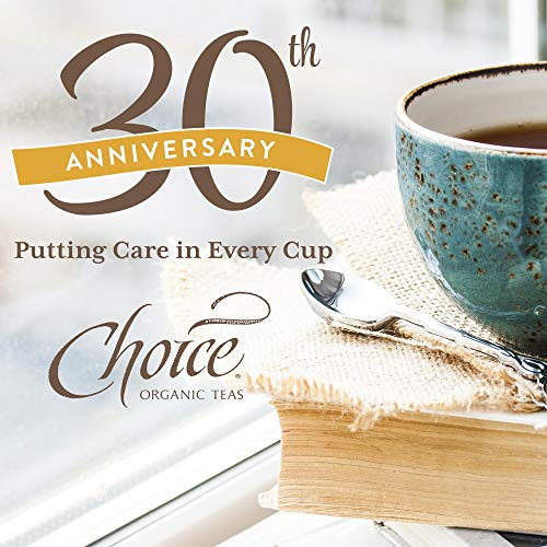 Choice Organic Teas Black Tea, 16 Tea Bags, Earl Grey