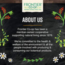 Image of Frontier Co-op Burdock Root, Cut & Sifted, Certified Organic, Kosher, Non-irradiated | 1 lb. Bulk Bag | Sustainably Grown | Arctium lappa L.