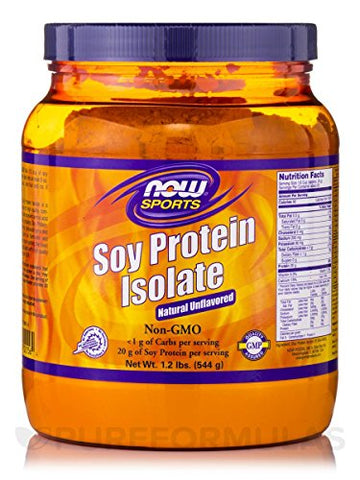 Soy Protein Isolate Powder 1.2 lbs. 544 grams