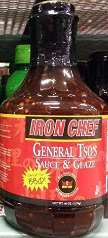 Iron Chef General Tsos Sauce and Glaze, Great for Barbeque, 40 Oz by Iron Chef