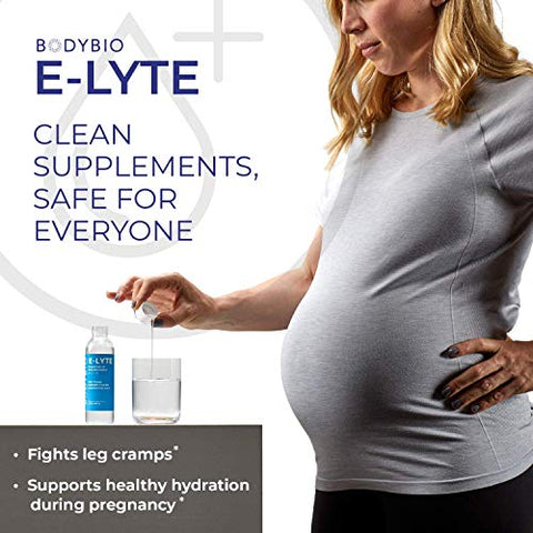 BodyBio | E-Lyte, Liquid Electrolyte | Sodium, Magnesium & Potassium for Rapid Natural Hydration | No Sugar or Additives | Keto Friendly Electrolyte for Rapid Dehydration Recovery | 4 oz