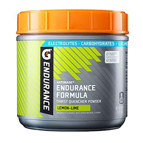 Gatorade Endurance Formula Powder, Lemon Lime, 32 Ounce.