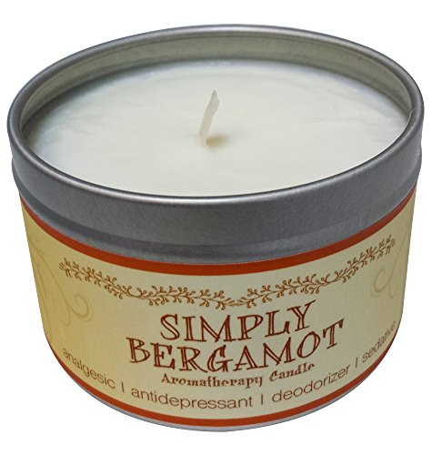 Our Own Candle Company Soy Wax Aromatherapy Candle, Simply Bergamot, 6.5 Ounce