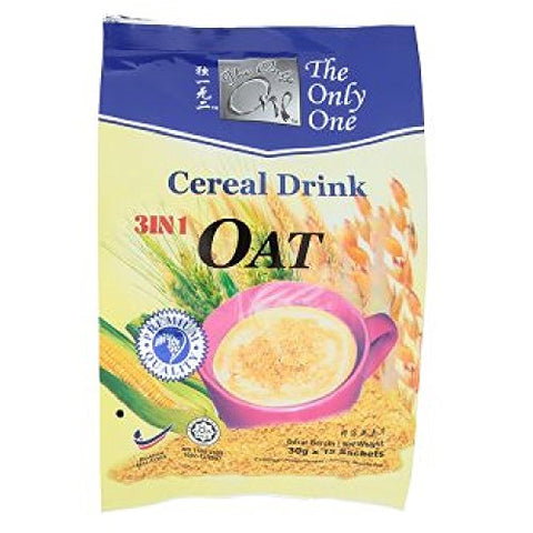The Only One 3 In 1 Cereal Drink (628MART) (Oat 450g, 12 Count)