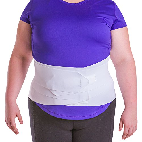 BraceAbility Women's Back Brace for Female Lower Back Pain Treatment & Lumbar Support (XL)