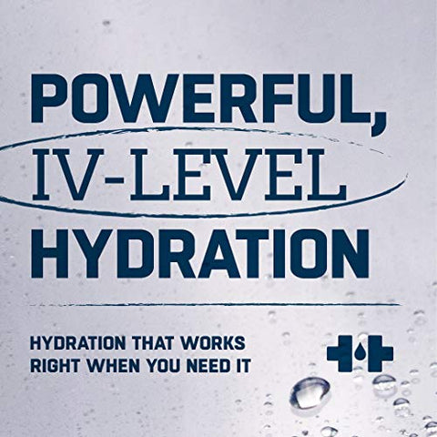 HOIST Premium Hydration Electrolyte Drink, Powerful IV-Level Hydration, Strawberry Lemonade, 16 Fl Oz (Pack of 12)